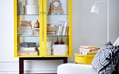 SALON IKEA PARA UN PISO DE ESTUDIANTES