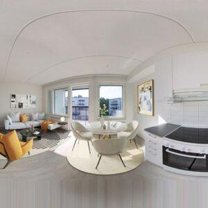 Home Staging Virtual 360 en Casas Vacías